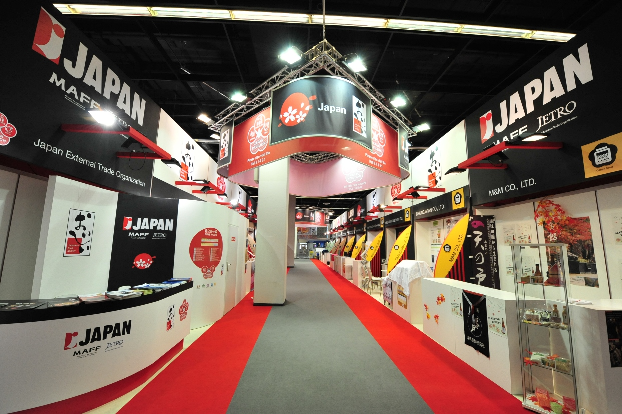 Exhibition Stand Builders In Japan : Space display exhibitions and events marketing global company