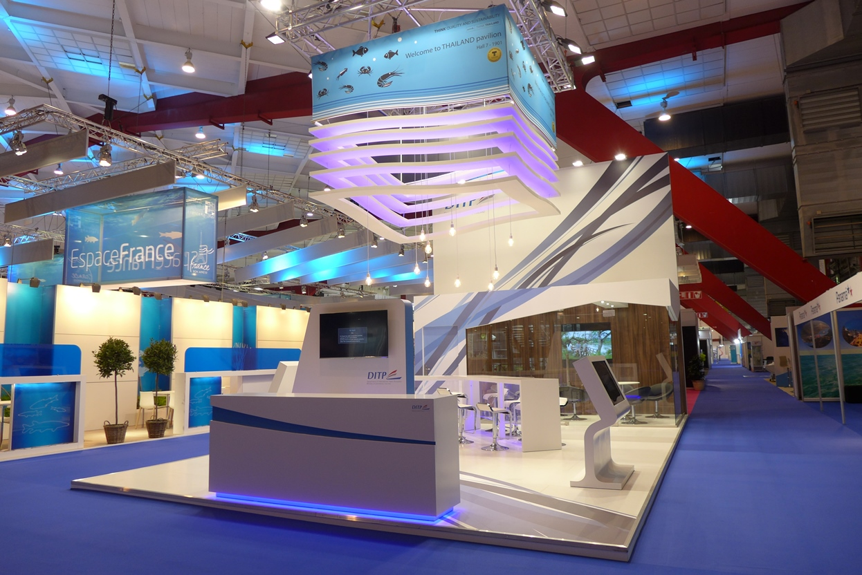 Exhibition Stand Builders Thailand : Thailand pavilion seafood expo global brussels space display