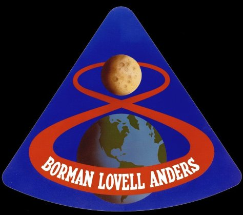 Apollo8 Mission patch