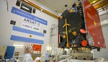 Latin American Intelsat 30 and ARSAT 1 launch aboard Ariane 5