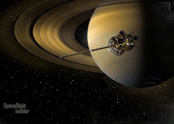NASA Saturn Cassini Spacecraft