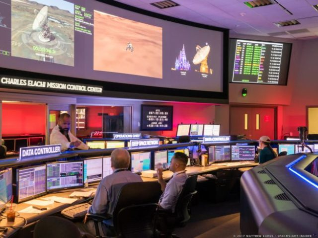 The Charles Elachi Mission Control Center