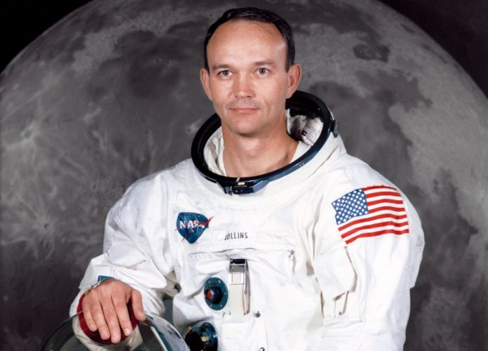 Michael Collins during a crew photo for the Apollo 11 mission in 1969. Credit: NASA