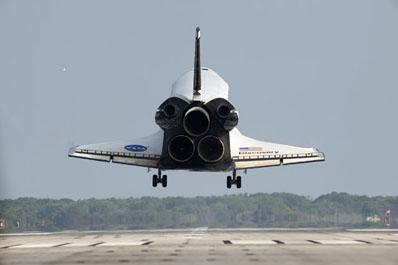 Atterraggio dello Space Shuttle