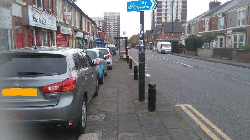 Keep pavements for people, not cars