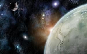 Pretty space scene...