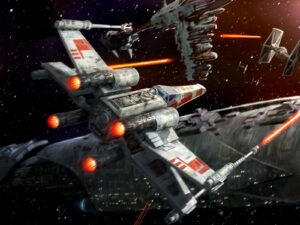 The iconic X-Wing...