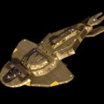 Render of a Cardassian Keldon Class Cruiser