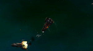 Combat in StarDrive looks up close and personal.