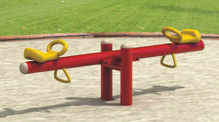 I loved seesaws as a kid.