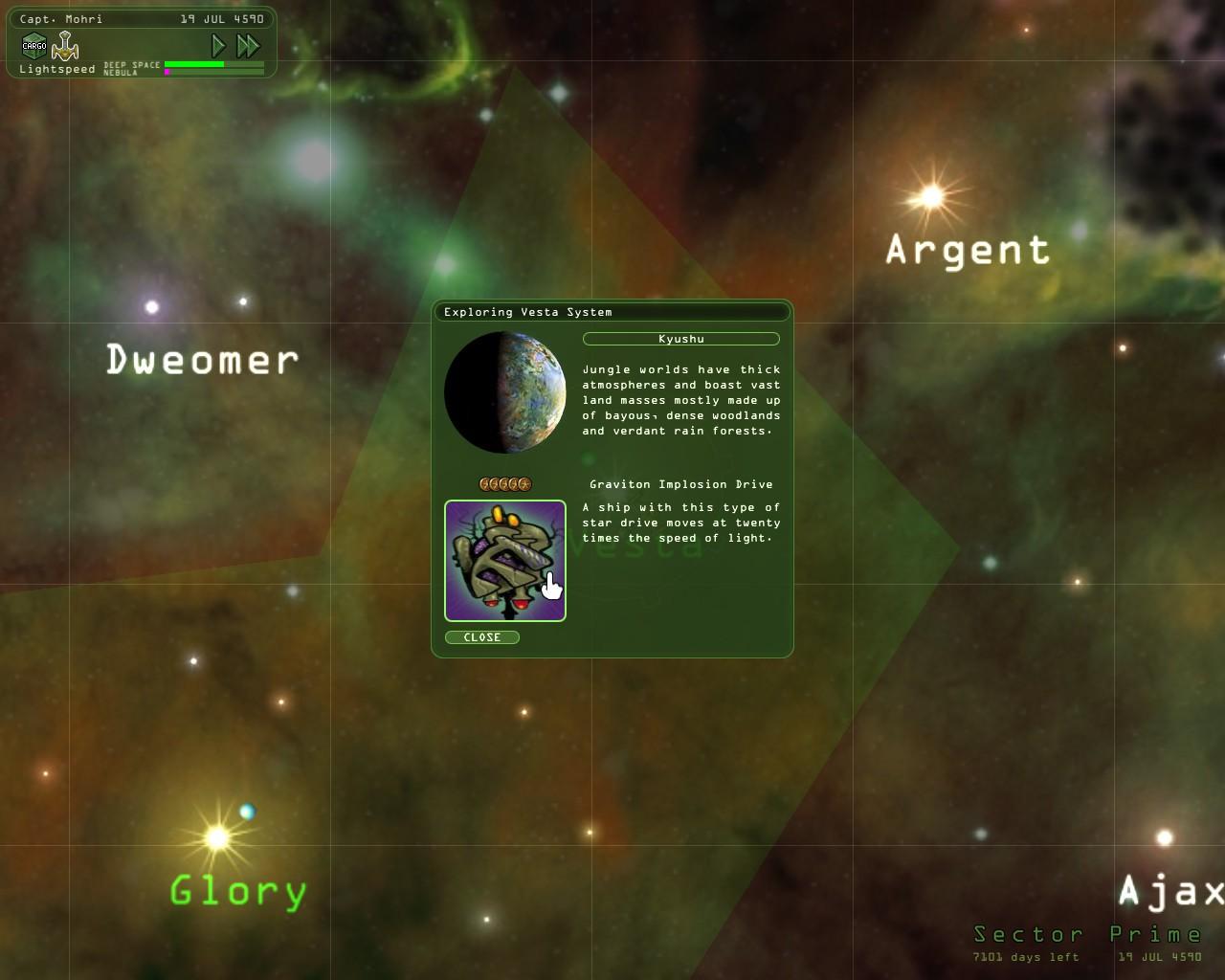 Weird Worlds: Flight of the Star Devil | Space Game Junkie
