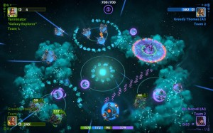 Planets Under Attack Screenshot