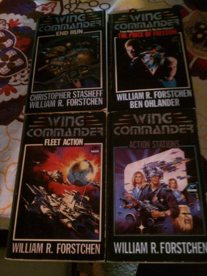 Wing Commander Novels