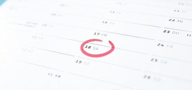 Site Stuff: Calendar Added!