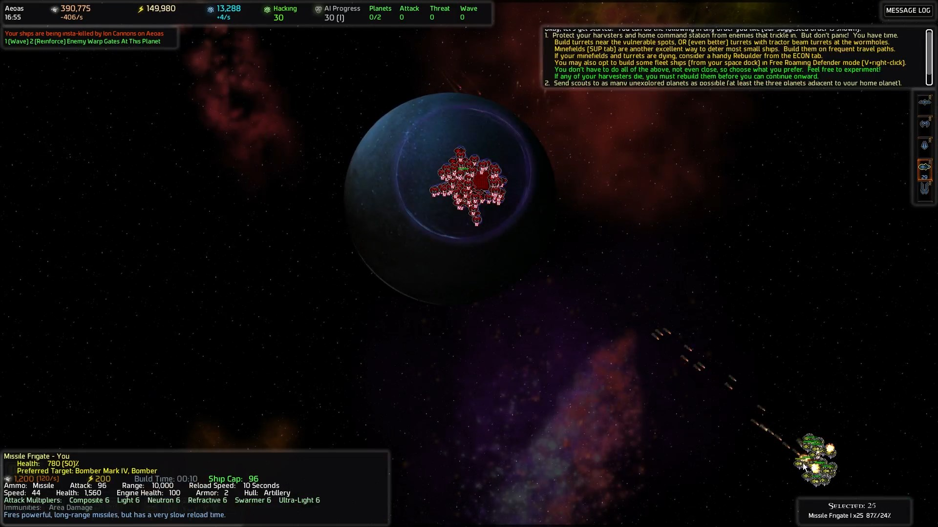 Ai War ai war review archives | space game junkie