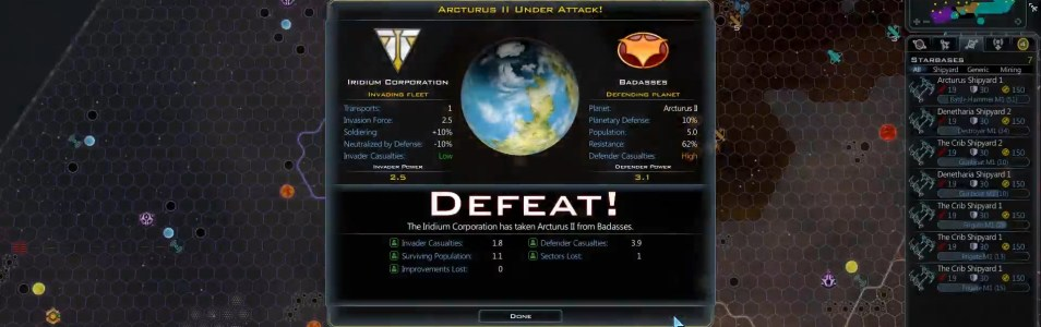 Let's Play Galactic Civilizations III – Entry 5 – The Hammer Falls