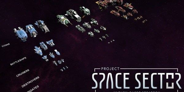 Project Space Sector Dev Diary Up Looking at Ships