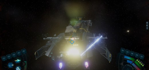 SpaceBourne screenshot.