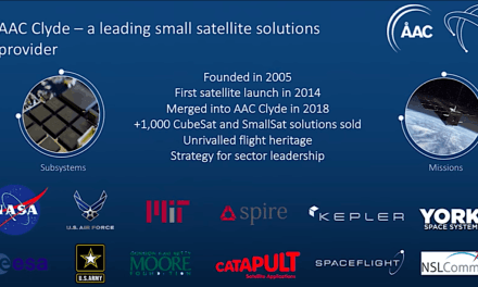 Cubesat builder AAC Clyde says Q3 hiccup won't affect full year, sees Ball Aerospace MoU as ticket to U.S.