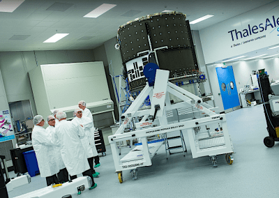 Thales UK delivers 1st electric-propulsion module for new-generation telecom satellites