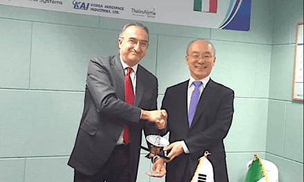 Korean military selects Thales Alenia Space Italy for 4 radar satellites