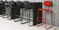 School Cafe Chair | Plywood Seat + Armrests - Spaceist ...