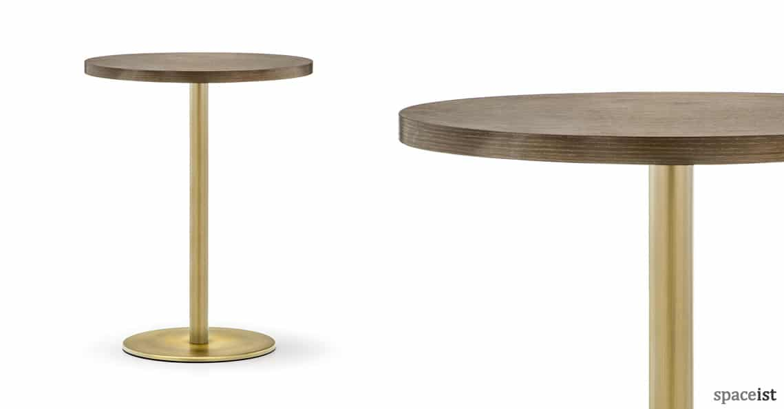 Round Cafe Tables  Inox brass table  NEW