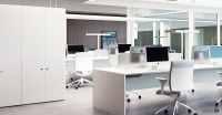 Office Storage : Forty5 high storage | white