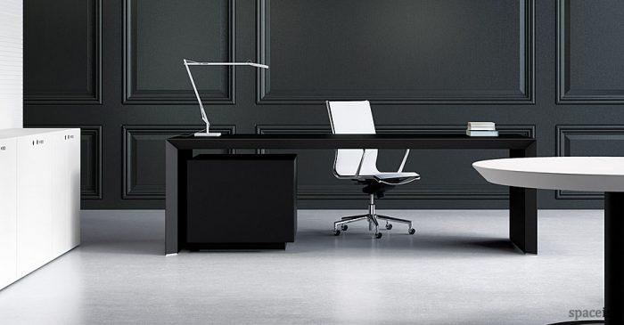 cream office chair faux leather sofa sleeper twin design-led desks   white bench minimalist