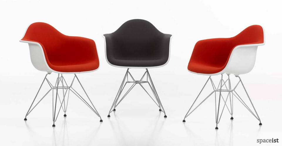 meeting room chairs chair design in bangladesh plastic steak digital red and black