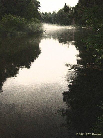 Dusky dusk; The Manistee River
