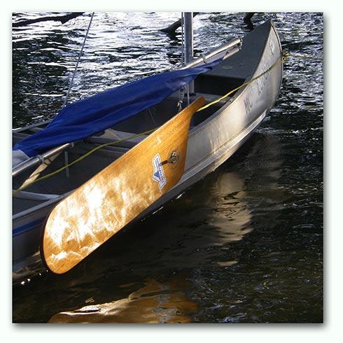Grumman Square Stern Sailing Canoe | The LogBook