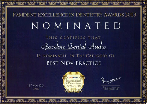 Dental Clinic in Mumbai Award