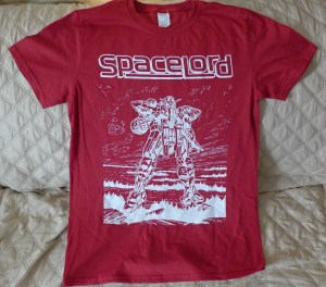 Spacelord T-shirt GotD Red