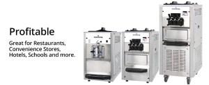 Spaceman best ice cream machines