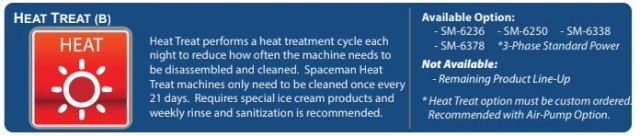Heat Treat Option Spaceman Machine