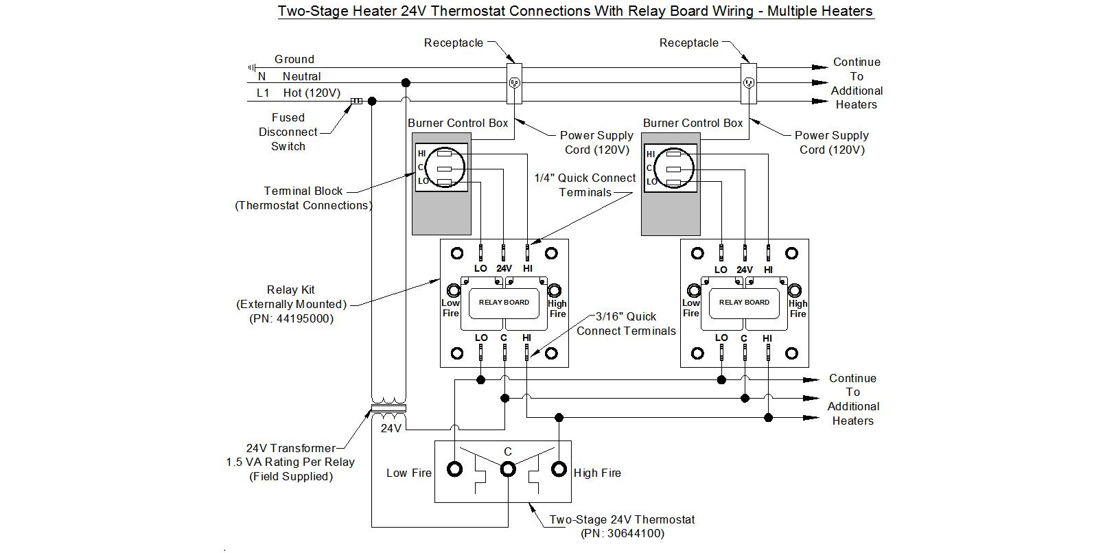 two stage thermostat wiring diagram xtrons td699g multi free engine image
