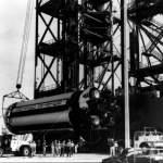 Lifting Saturn SA-1 First Stage