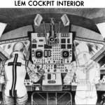 1964 Version of LEM, No Seats and Triangular windows