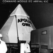 Apollo 1 Arrives at the Cape
