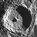 LO 5 Image of the Tycho impact crater