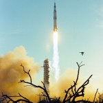 Apollo 8 Clears the Tower