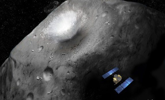 JAXA Schedules New Asteroid Sampling Mission for 2014