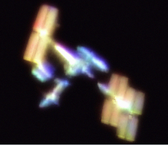 Secret Colors Of The Iss