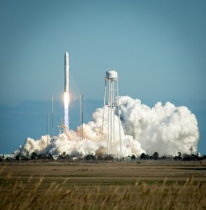 Antares Rocket Test Launch at Wallops Flight Facility in Virginia (Credits: NASA/Bill Ingalls).