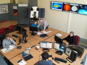 ESA's SSA Space Weather Coordination Centre (Credits: ROB/Royal Observatory Belgium).