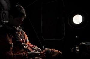 Stas' alone in the Kolibri capsule (Credits: Miki Auvila).
