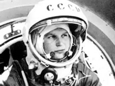 Valentina Tereshkova, the first woman in space, flew 20 years and 2 days before Sally Ride, the first American woman to follow in her footsteps (Credits: NASA).