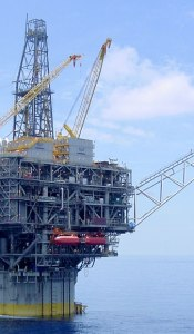 Oil Platform utilizing Astro Technology's downhole monitoring systems (Credits: Astro Technology, Inc)