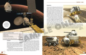 "Visualizations and descriptions of the latest Russian plans for the manned expedition to Mars contained in ""Russia in Space"": (Credits: Anatoly Zak)."